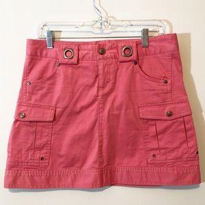 Athleta cargo skirt coral orange 4 (fits big)